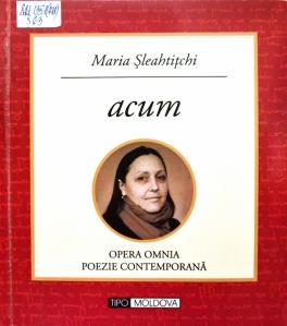 Maria Șleahtițchi. acum