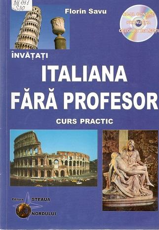 Florin Savu_Italiana fara profesor