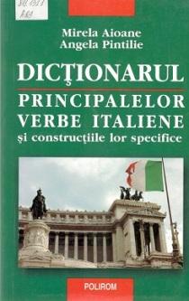 Mirela Aioane_Dictionarul principalelor vb italiene