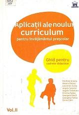 aplicatiile noului curriculum. Vol. 2