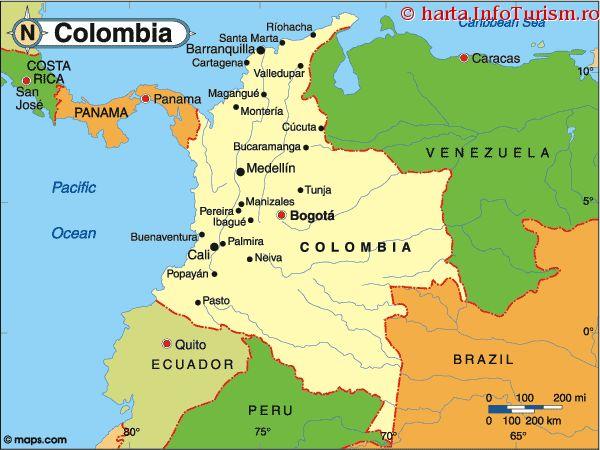 harta_politica_Columbia