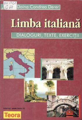 Condrea Derer_Limba italiana