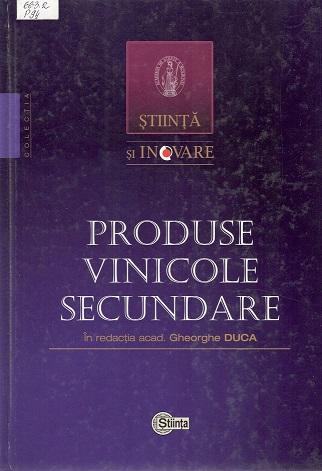 Produse vinicole secundare