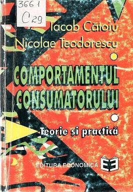 CAtoiu_Comportamnetul consumatorului