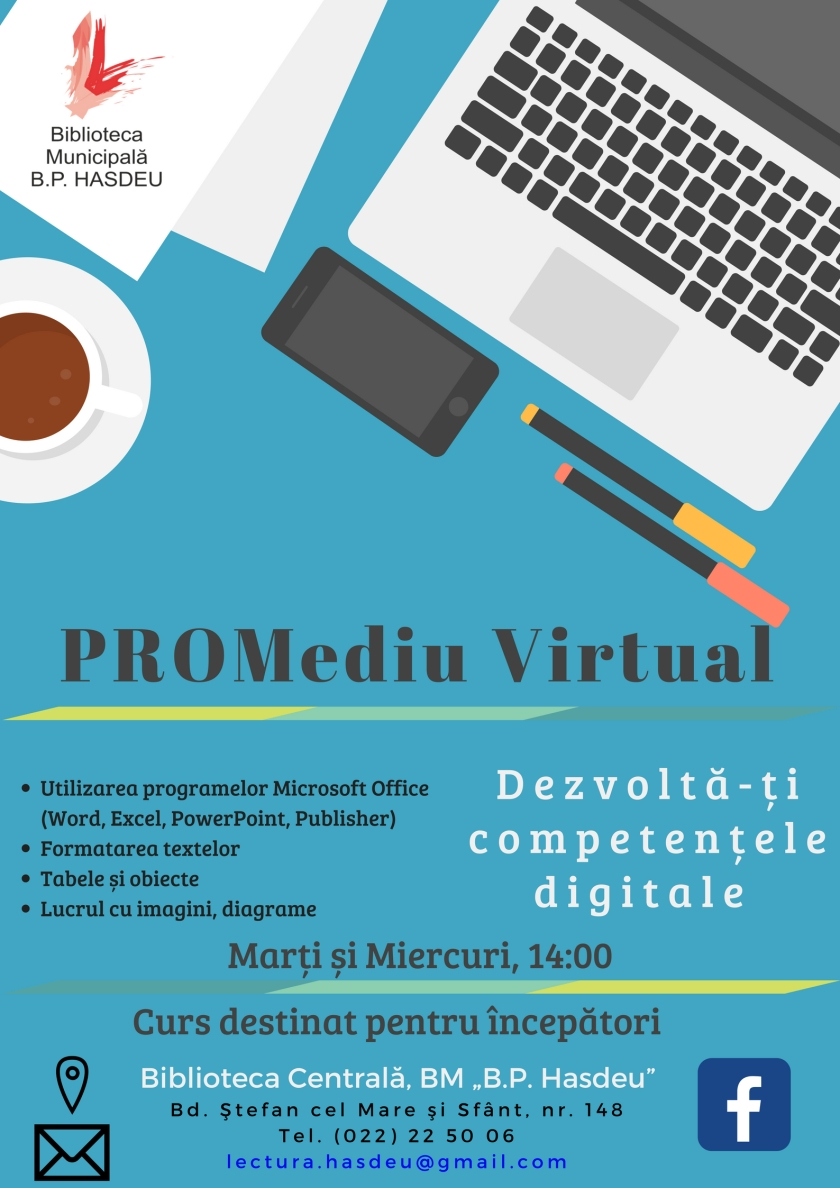 PROMediu Virtual Poster