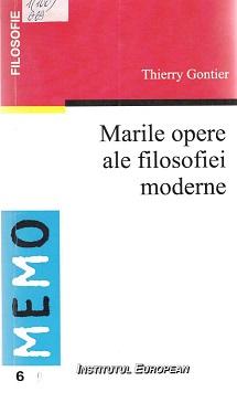 Gontier_Marile opere moderne