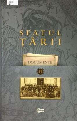 Sfatul Tarii vol 2