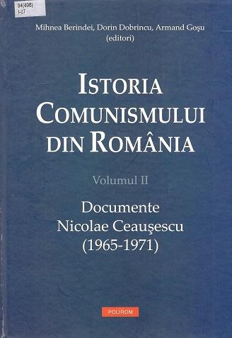 Istoria comunismului din Ro