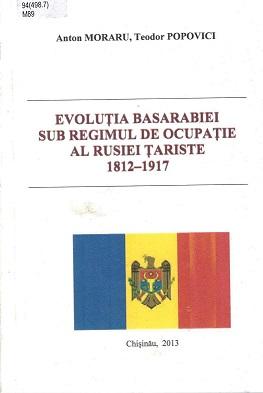 Moraru Evolutia Basarabiei