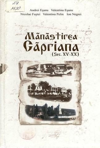 Manastirea Capriana sec XI-XX